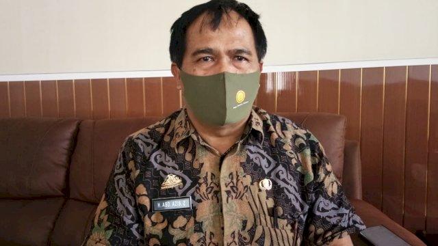 Kepala Dinas Peternakan dan Kesehatan Hewan Provinsi Sulsel Abd Azis.