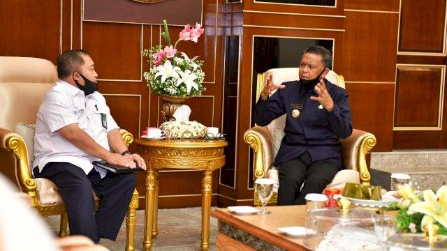 Gubernur Dorong Percepatan SPAM Regional Mamminasata
