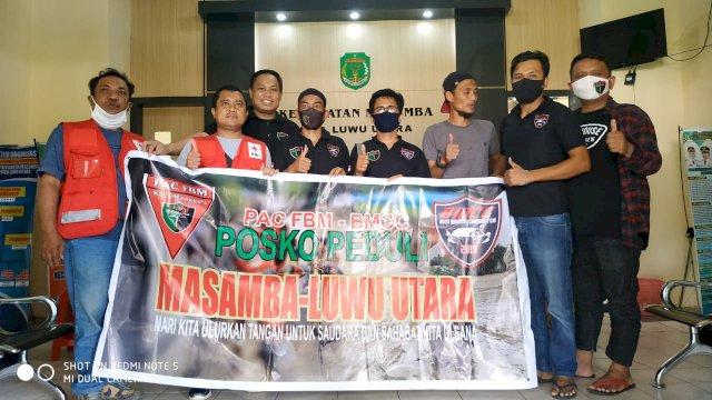 Forum Bugis Makassar Salurkan Donasi untuk Korban Banjir Bandang Masamba