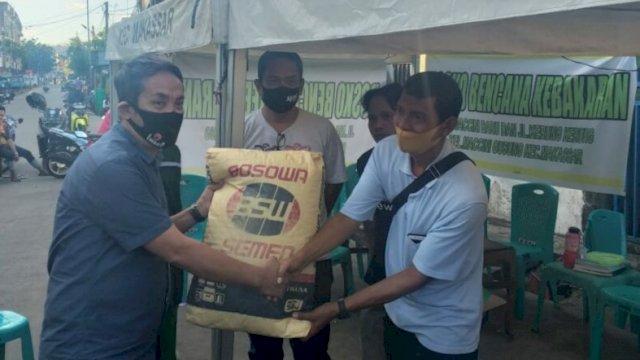 Appi Peduli Bantu 500 Sak Semen Untuk Korban Kebakaran di Kerung-kerung