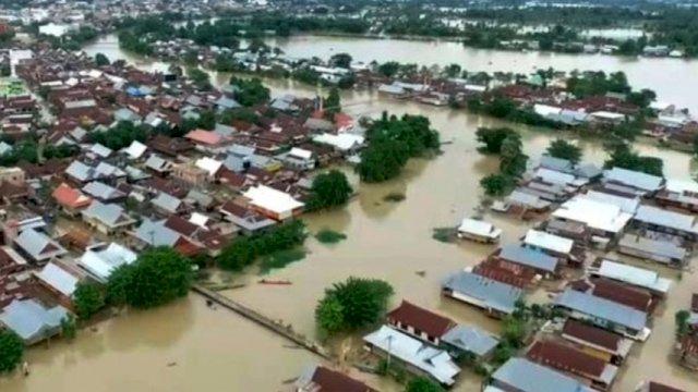 Dampak Banjir Bandang, 50 Ribu Warga di Wajo Terancam Krisis Pangan