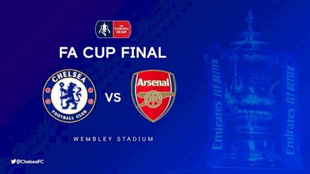 Chelsea dan Arsenal akan bertemu di partai puncak Piala FA 2019-2020. (Foto: @ChelseaFC)