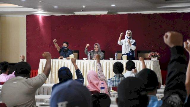 Kumpulkan Tim Pemenangan, Ari Ashari Ilham Siap Menangkan DP-Fatma