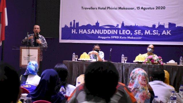 Anggota DPRD Makassar, Hasanuddin Leo memberikan lampu hijau pembukaan kembali bioskop di Kota Makassar.