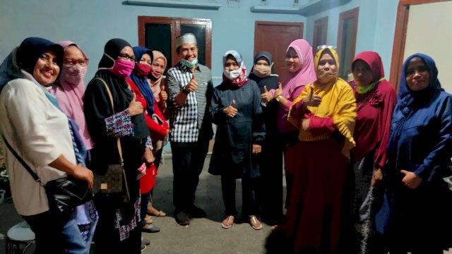 Bakal calon Wali Kota Makassar, Syamsu Rizal (Deng Ical) penuhi undangan silaturahmi Warga Sudiang, Sabtu (29/8/2020)