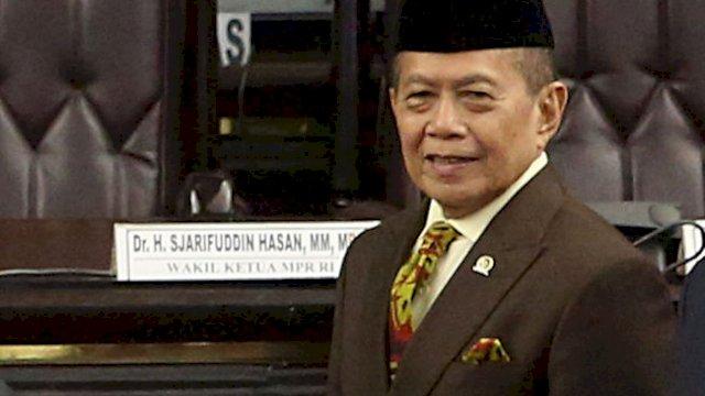 Wakil Ketua MPR RI Sjarifuddin Hasan (int)