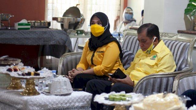Ketua DPRD Sulsel Ikut Lepas None-Zunnun Menuju KPU Makassar