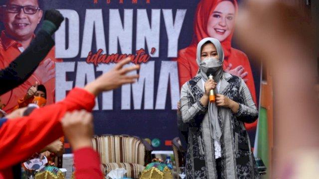 Wakil Wali Kota Makassar terpilih, Fatmawati Rusdi.