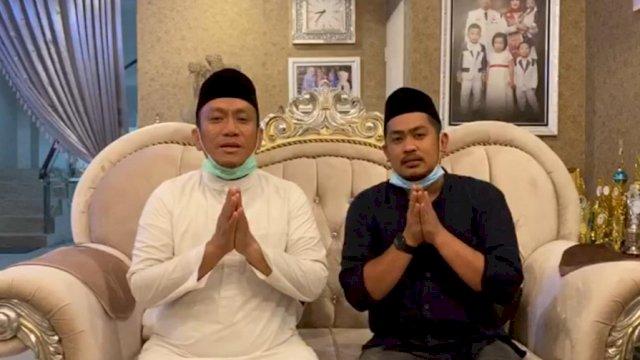Pasangan calon Irwan Bachri Syam-Andi Muh Rio Patiwiri Hatta (Ibas-Rio).