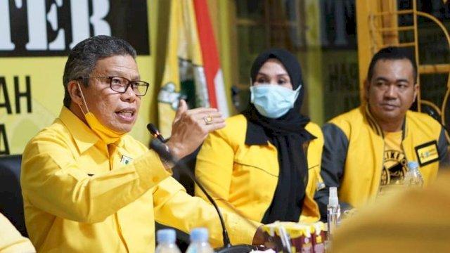 Ketua DPD I Partai Golkar Sulsel, Taufan Pawe.