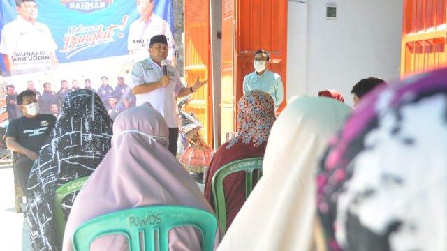 Pasangan Appi-Rahman penuhi undangan Accung Community