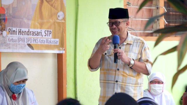 "Calon Wali Kota Makassar, Irman ""None"" Yasin Limpo"