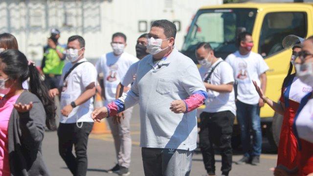 Kampanye Virtual Senam Massal Appi-Rahman diikuti 2222 orang yang tersebar di 38 Kelurahan.