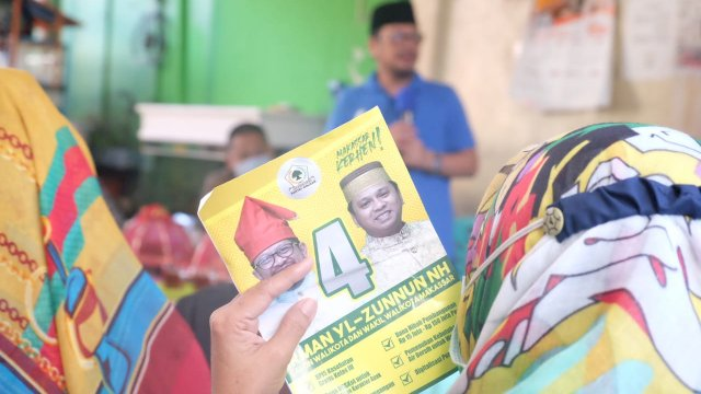 Program pasangan Irman Yasin Limpo-Andi Zunnun (Imun) ditiru kandidat lain.