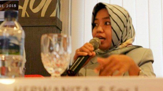 Kordinator Bidang Isi siaran KPID Sulsel, Hermanita.
