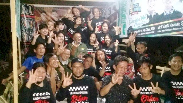 Brigjen TNI (Purn), Amsal Sampetondok mengajak warga Luwu Raya di Makassar menangkan Dilan.