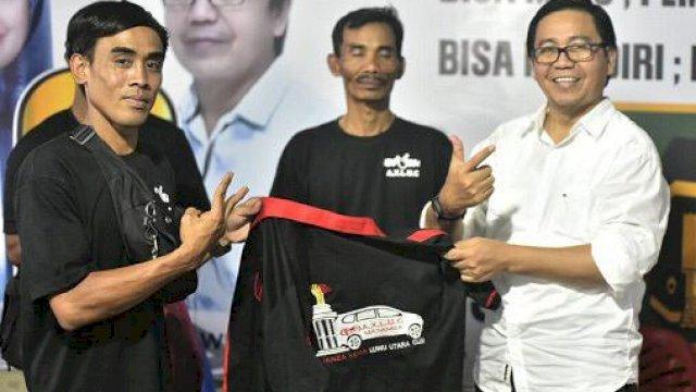 Avanza Xenia Luwu Utara Club (AXLUC) mendeklarasikan diri mendukung pasangan Indah-Suaib