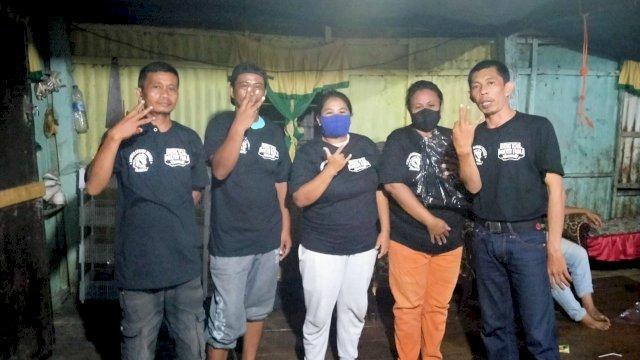 Relawan Sesama Turatea Ajak Warga Jeneponto menangkan Dilan di Pilwali Makassar.