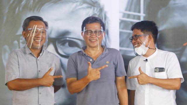 Presiden Akal Sehat, Rocky Gerung ajak anak muda Makassar untuk tidak pilih pemimpin yang suka berbohong.
