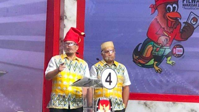 Pasangan Irman Yasin Limpo-Andi Zunnun Armin (Irman-Zunnun) sindir Program Training Gratis 10 Ribu yang dinilai sangat pelit.