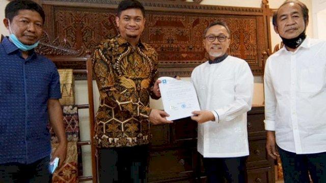 PAN Gowa Terus Ingatkan Warga ke TPS coblos Adnan-Kio