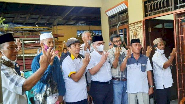 Calon Wali Kota Makassar, Irman Yasin Limpo temui Tokoh Masyarakat Biringkanaya.