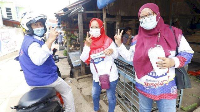 Sosialisasi Program Pro Rakyat, Tim Appi-Rahman Sasar 4 Kecamatan