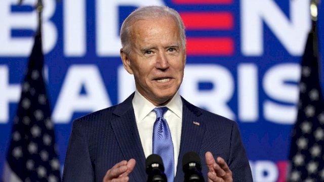 Joe Biden terpilih menjadi Presiden Amerika Serikat, mengalahkan petahana Donald Trump. (int)