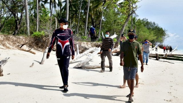 Percontohan Pulau Wisata, Pemprov Sulsel Terus Percantik Lanjukang
