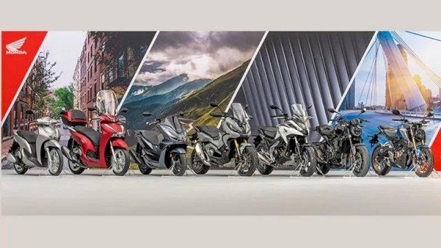 Tujuh motor baru Honda untuk pasar Eropa. (ANTARA/Honda)