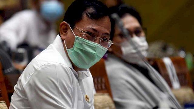 Menteri Kesehatan Terawan Agus Putranto. ANTARA FOTO - Puspa Perwitasari