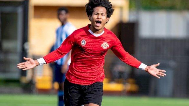 Pemain tim nasional U-19 Indonesia Amiruddin Bagus Kahfi Al-Fikri. (int)