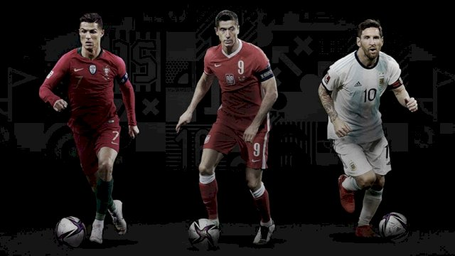 Finalis The Best FIFA Men's Player 2020 © Twitter (FIFAcom)