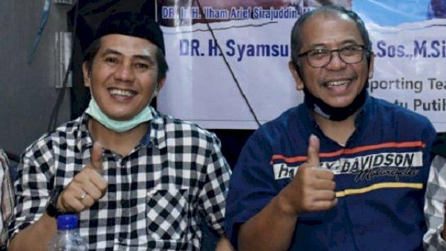 Syamsu Rizal (Deng Ical) dan Ilham Arief Sirajuddin (IAS). (int)