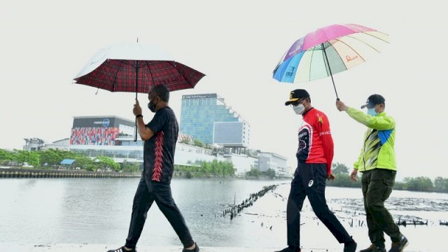 Nurdin: Sirkulasi Air di Losari Tuntas Dalam 3 Minggu