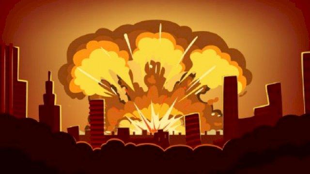 ilustrasi ledakan (int)