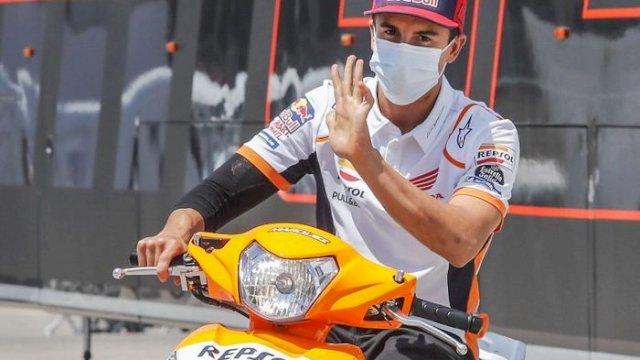 Pebalap tim Repsol Honda Marc Marquez (int)