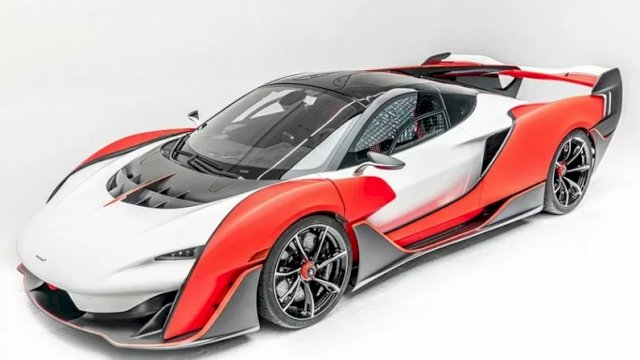 McLaren Sabre. ANTARA/McLaren.