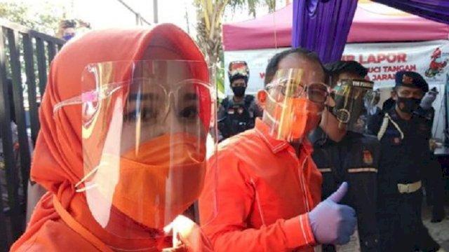 Pasangan Walikota dan Wakil Walikota (Wawali) Makassar terpilih, Danny Pomanto-Fatmawati Rudi. (int)