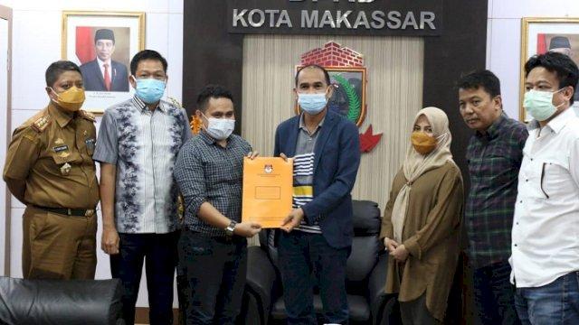 DPRD Makassar Terima Hasil Penetapan Danny-Fatma dari KPU, Segera Kirim ke Kemendagri