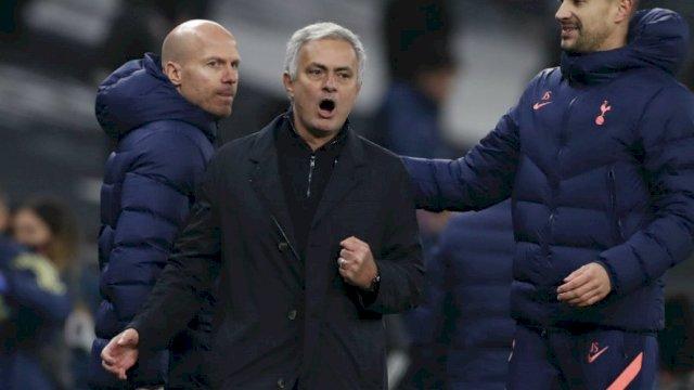 Jose Mourinho. (Pool Reuters via AP Photo)