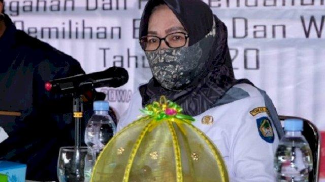 Penjabat Sekretaris Daerah (Sekda) Kabupaten Gowa Hj Kamsinah. (int)