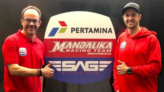 Edu Perales dan Thomas Luthi (SAG Team)