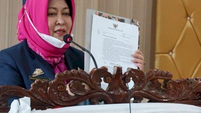 Pelaksana Harian (Plh) Bupati Bulukumba Misbawati A Wawo.