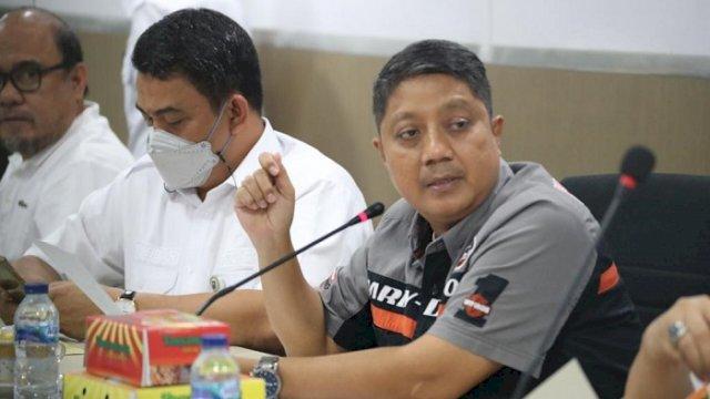 Plt Sekretaris DPRD Makassar A. Bukti Djufrie.