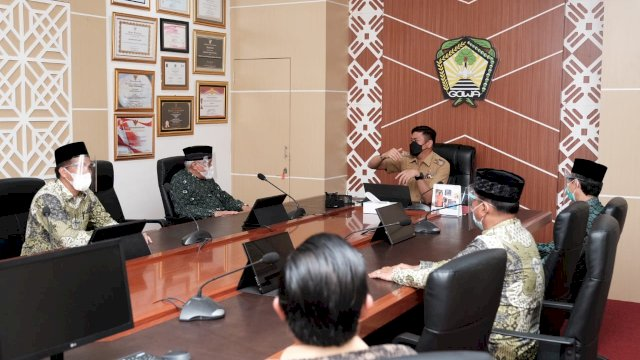Bupati Siap Bantu Pembangunan Kantor PC NU Gowa