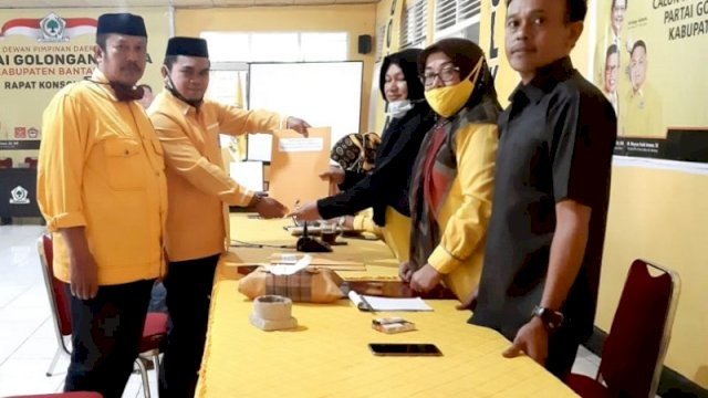 Hanya Meyrza Pendaftar Bacalon Ketua Golkar Bantaeng