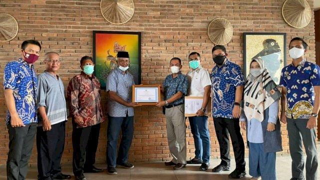 BKPSDM Gowa Terima Dua Penghargaan dari BKN