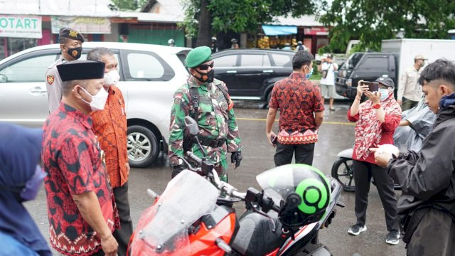 Hari Kedua Penegakan Prokes di Gowa, Puluhan Orang Terjaring Tak Pakai Masker