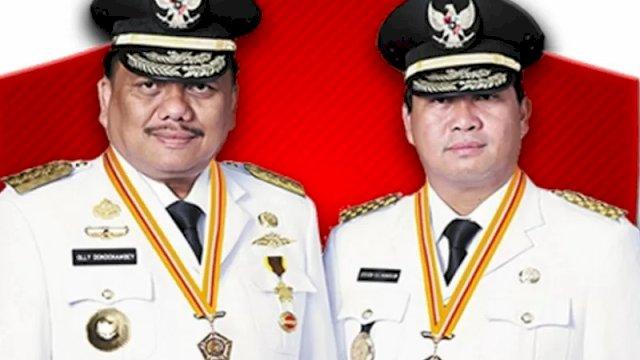 Gubernur Sulawesi Utara Olly Dondokambey dan Wakil Gubernur Steven Kandouw (1)